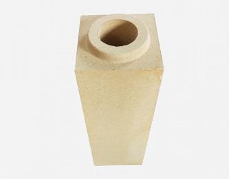 黏土质方管砖