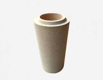 黏土质圆管砖